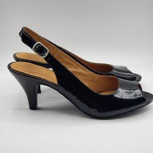 Clarks Active Air 8.5M, black patent leather